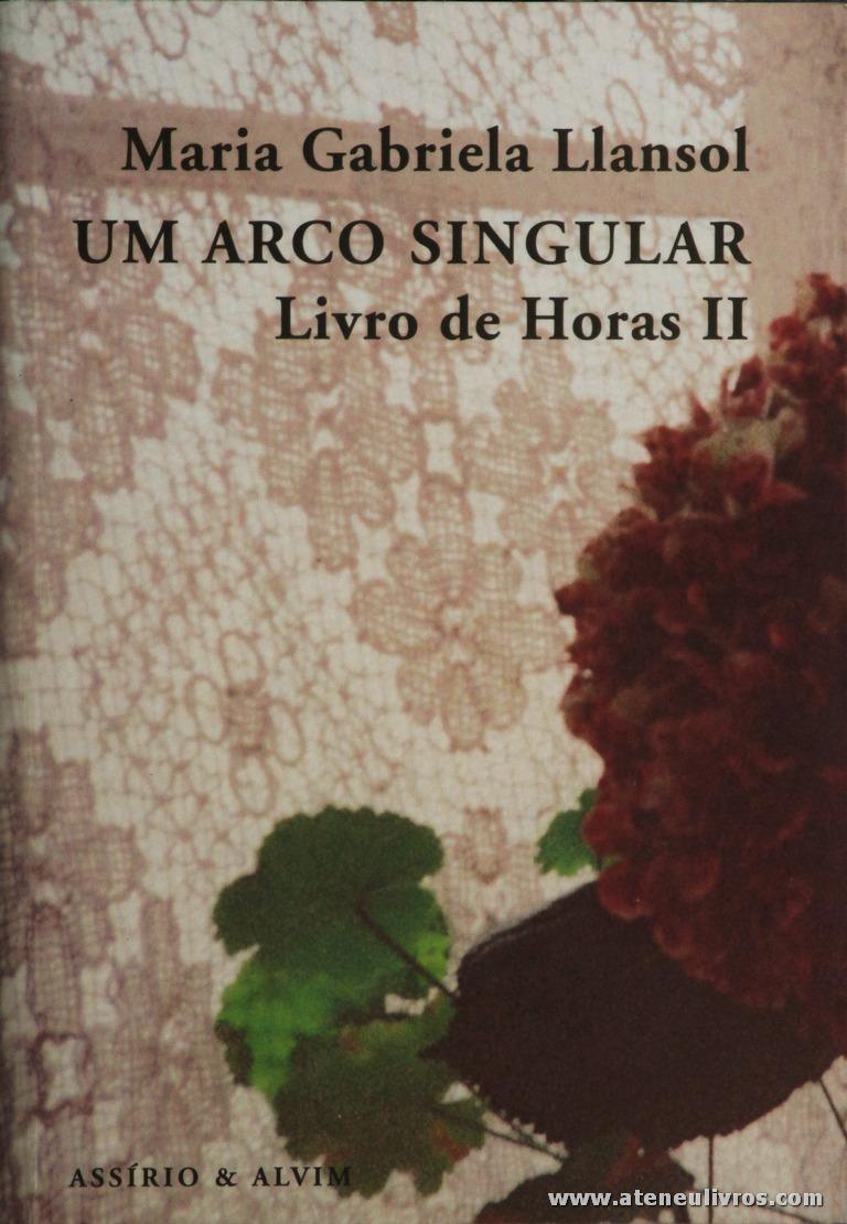 Maria Gabriela Llansol - Um Arco Singular - Livro da Horas II «€5.00»