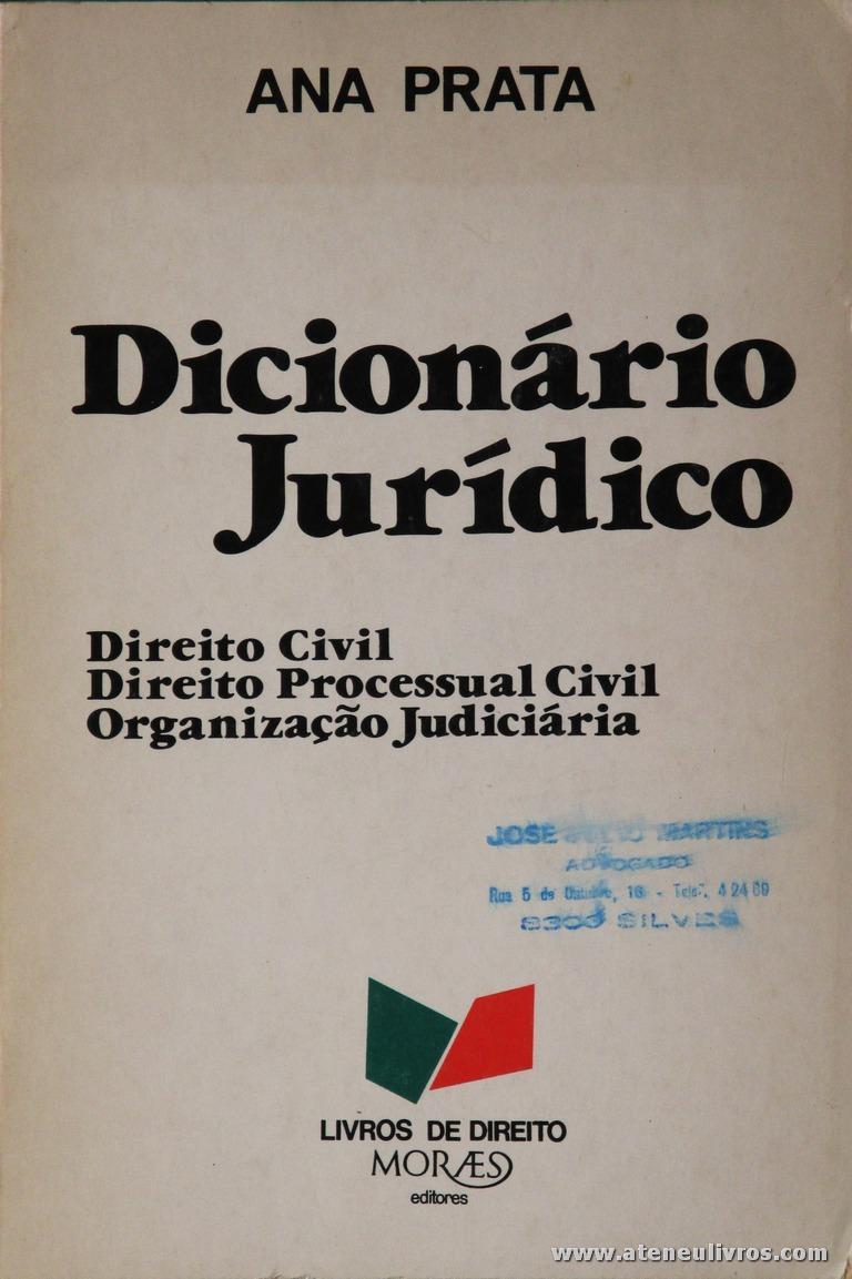 Civil / Organização Judiciária - Moreas Editores - Lisboa - 1980. Desc. 547 pág / 23 cm x 15,5 cm / Br. «€20.00»