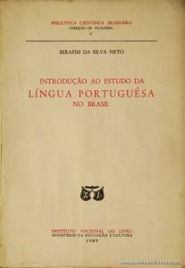 Introdução ao Estudo da Língua Portuguesa no Brasil