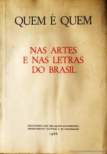 Quem é Quem nas Artes e nas Letras do Brasil