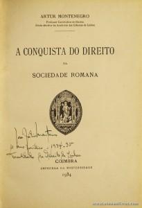 A Conquista do Direito na Sociedade Romana