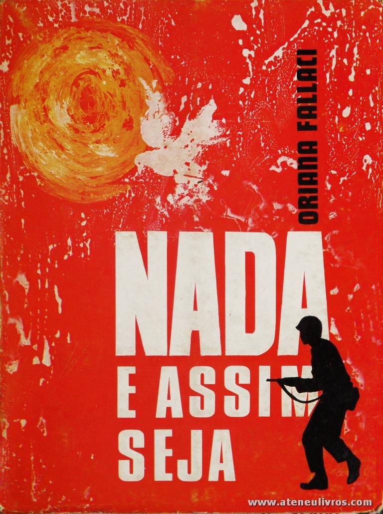 Oriana Falaci - Nada e Assim Seja «€5.00»