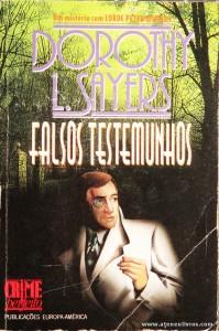 Dorothy L. Sayers - Falsos Testemunhos «€5.00»