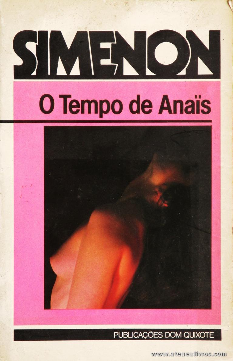 Simenon - O Tempo de Anaïs «€5.00»