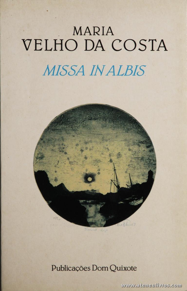 Maria Velho da Costa - Missa In Albis «€10.00»