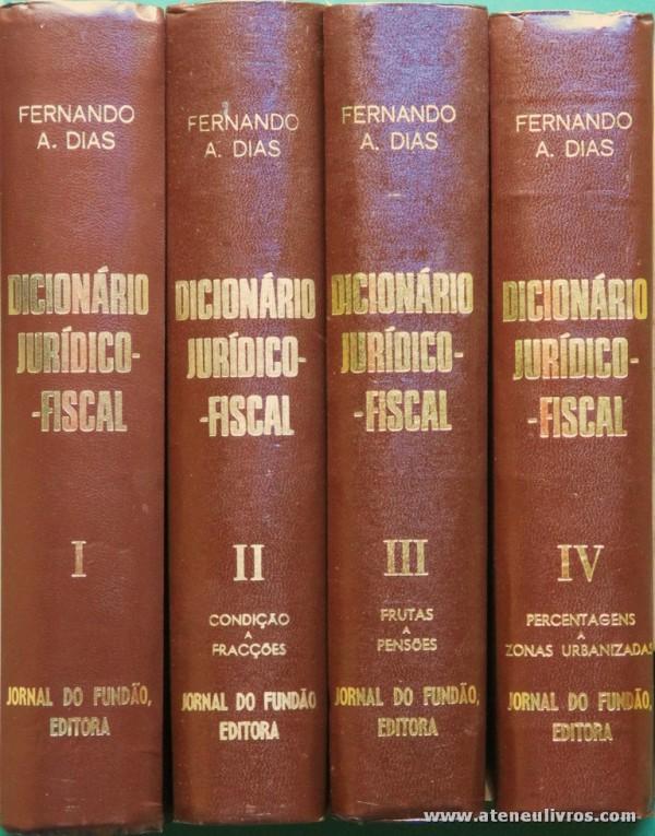 Dicionário Jurídico-Fiscal