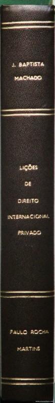 Lições de Direito Internacional Privado