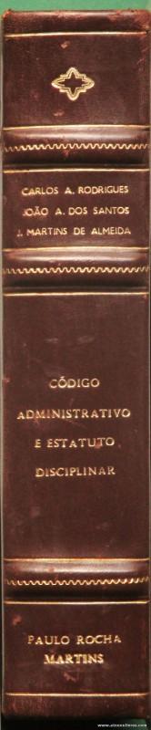 Código Administrativo e Estatuto Disciplinar