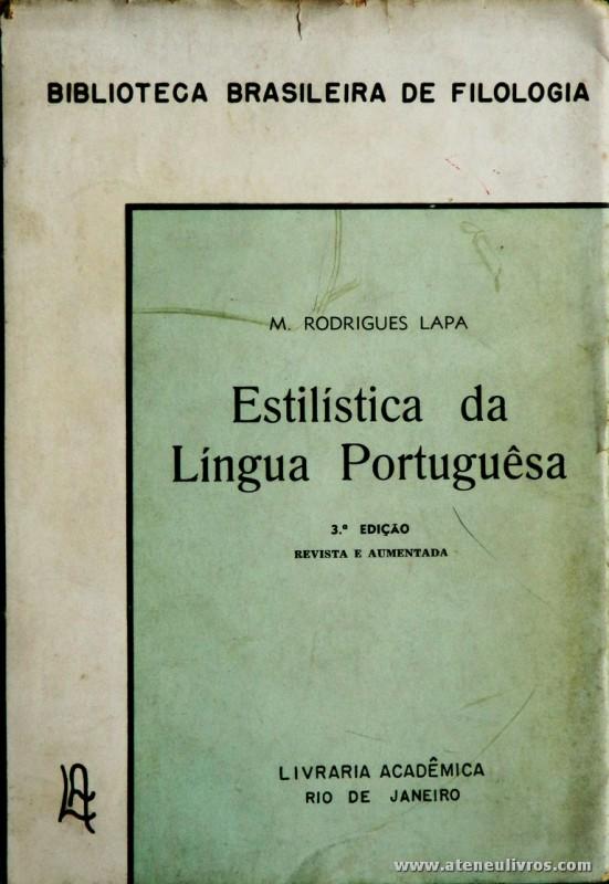 Estilística da Língua Portugueêsa
