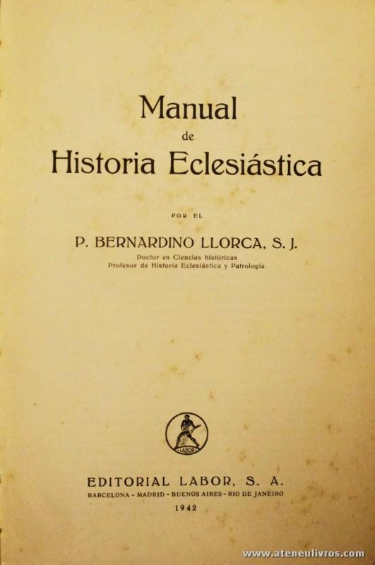 Manual de História Eclesiástica