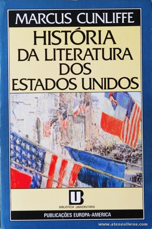 História da Literatura dos Estados Unidos