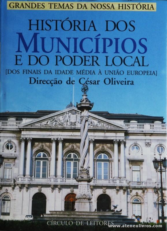 História dos Municípios e do Poder Local [Dos Finais da Idade Média a União Europeia]