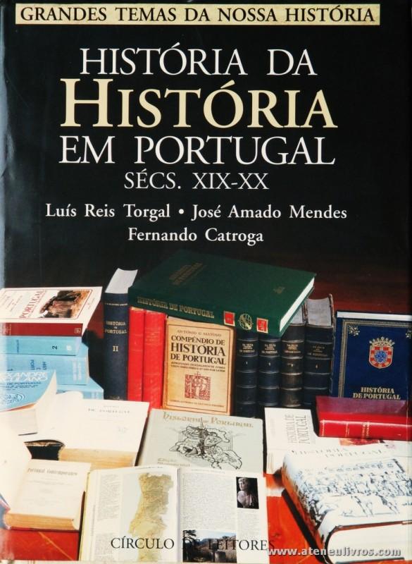 História da História de Portugal Sécs. XIX-XX