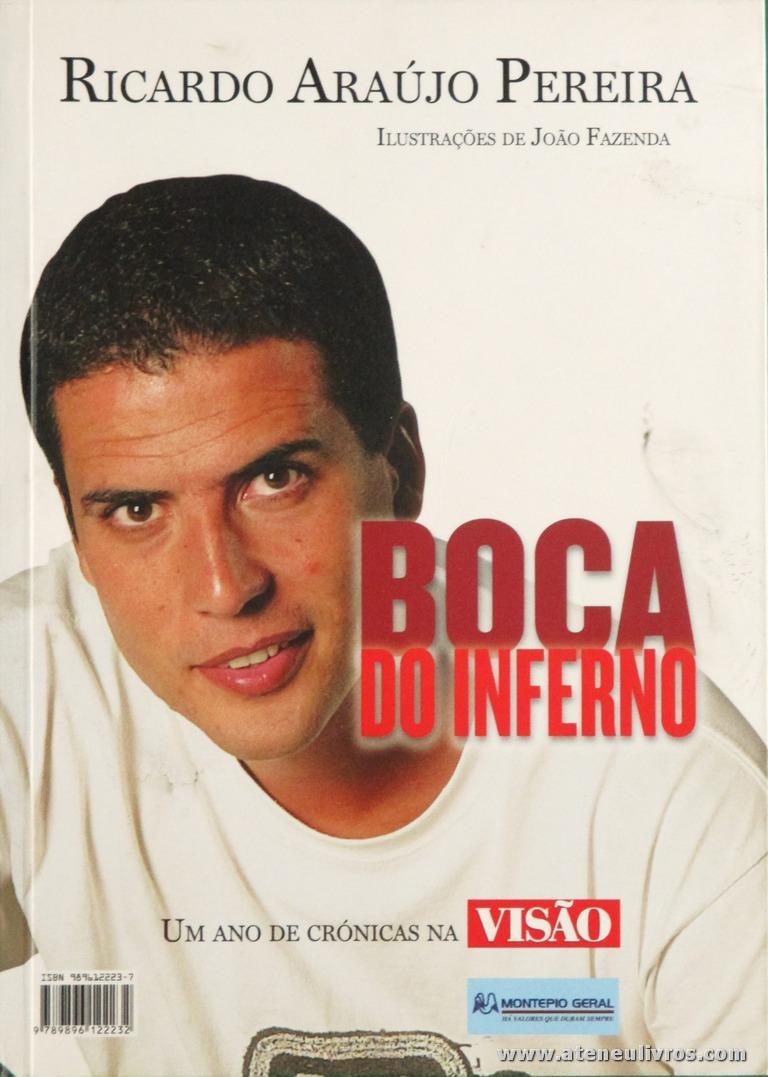Ricardo Araújo Pereira - Boca do Inferno «€5.00»