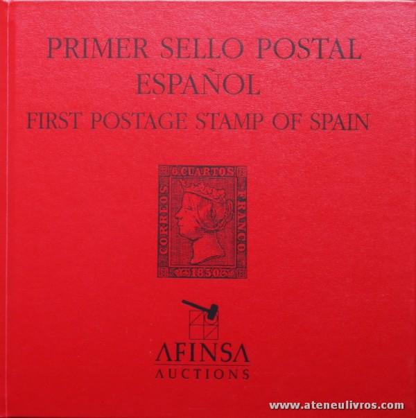 Primer Sello Postal Español