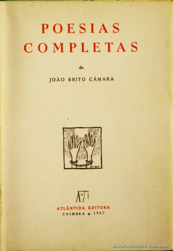 Poesias Completas de João Brito Câmara
