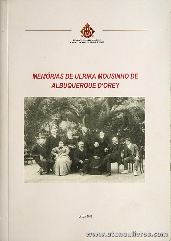 Memória de Ulrika Mousinho de Albuquerque D'Orey