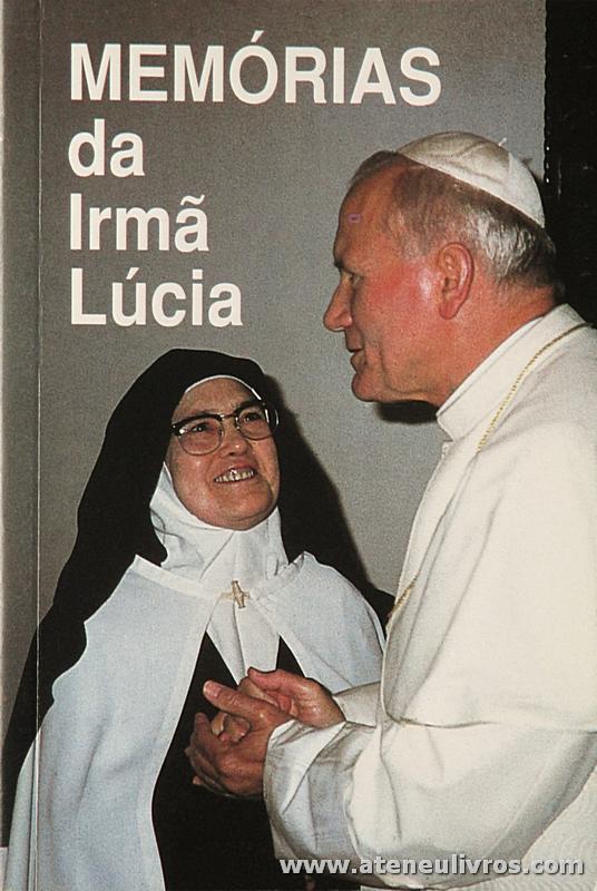 Irmã Lucia - Memórias da Irmã Lucia - «€5.00»