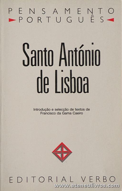 Santo António de Lisboa (Pensamento Portugueses)