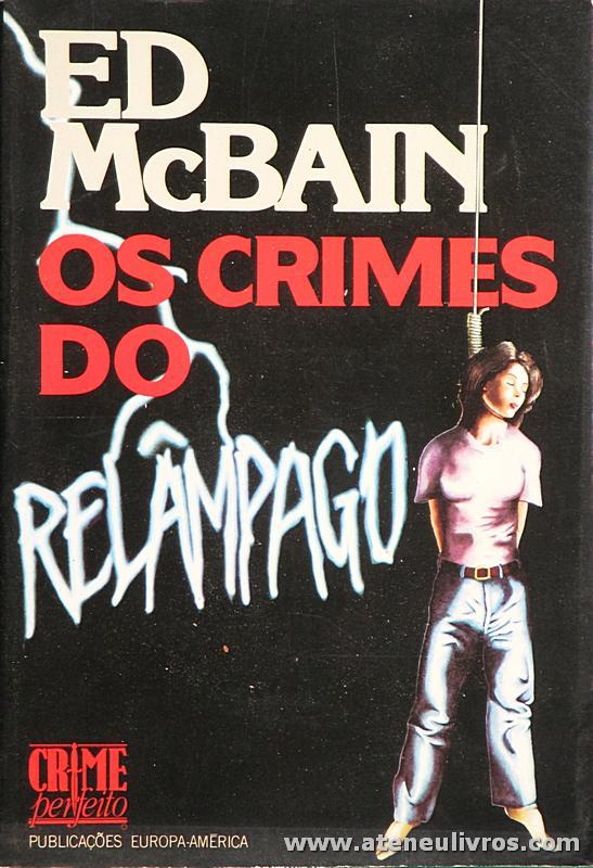 Ed McBail - Os Crimes do Relâmpago - «€5.00»