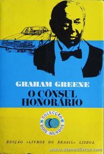 Graham Greene - O Cônsul Honorário «€5.00»