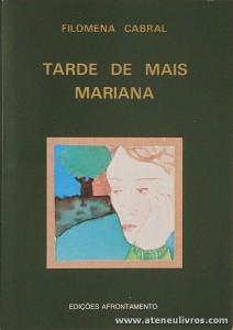 Filomena Cabral - Tarde de Mais Mariana «€5.00»