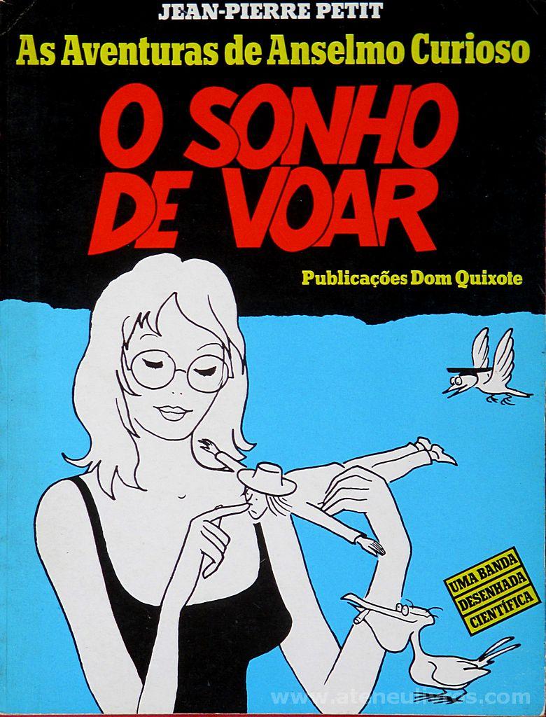 As Aventuras de Anselmo Curioso - O Sonho de Voar - «€5.00»