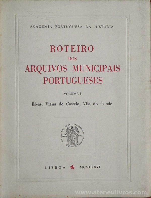 Roteiro dos Arquivos Municipais Portuguese