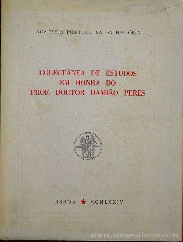 Colectanea de Estudos em Honra do Prof. Doutor Damião Peres