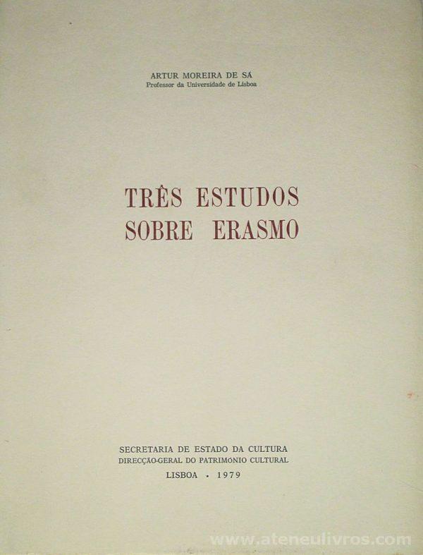 Três Estudos Sobre Erasmo