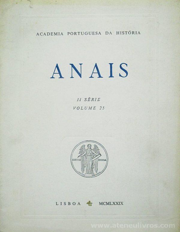 Anais II Série [Volume 25]