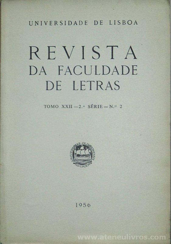 Revista da Faculdade de Letras - Tomo XXII - 2.ª Série - N.º 2