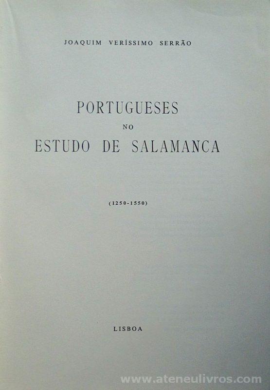 Portugueses no Estudo de Salamanca (1250-1550)