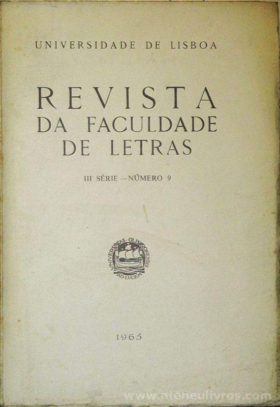 Revista da Faculdade de Letras - III.ª Série - N.º 6