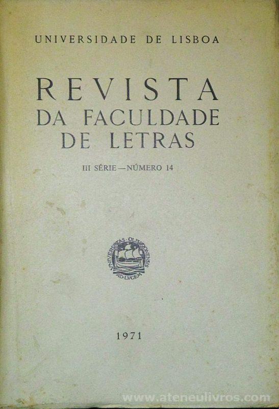 Revista da Faculdade de Letras - III.ª Série - N.º 13