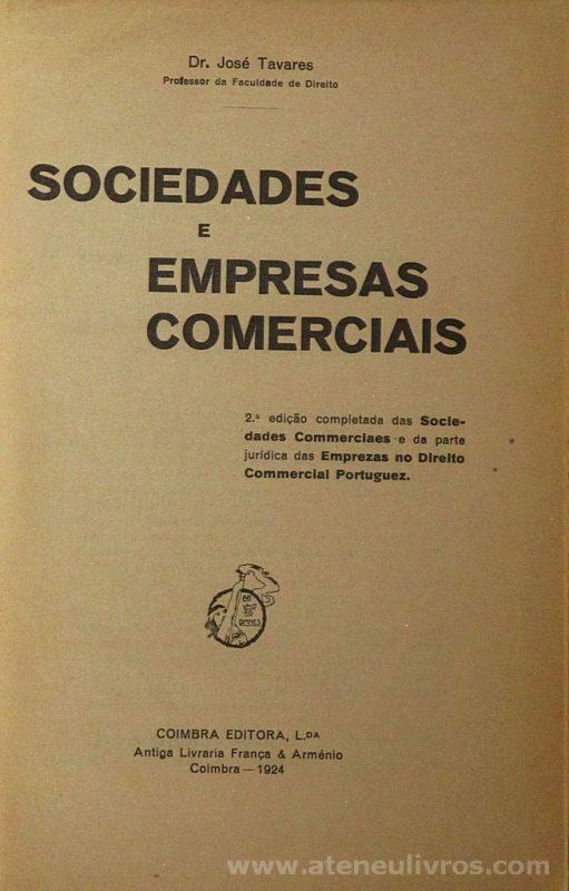 Sociedades e Empresas Comerciais