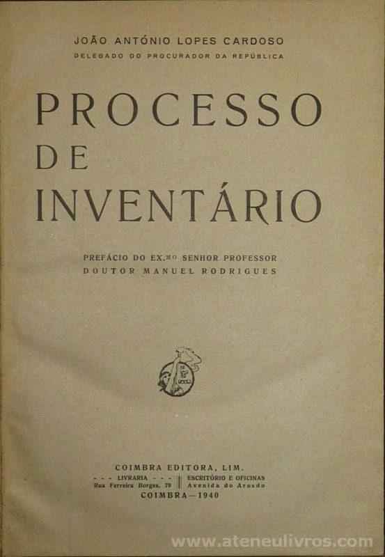 Processo de Inventario