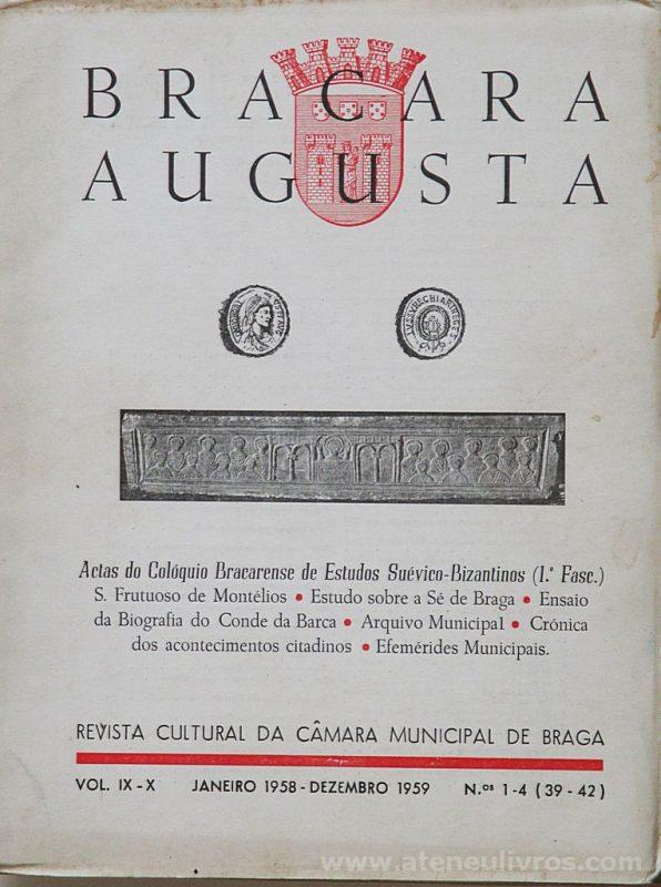 Bracara Augusta ( Revista) Actas do Colóquio Bracarense de Estudos Suévico-Bizantinos