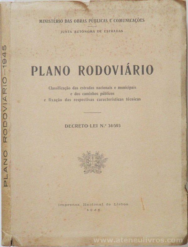Plano Rodoviário / Decreto - Lei N.º 34:593