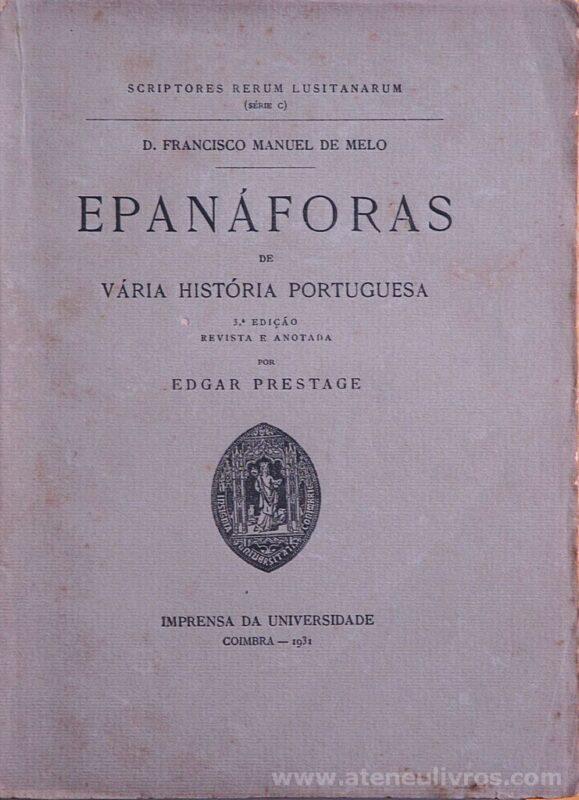 Epanáforas de Vária História Portuguesa